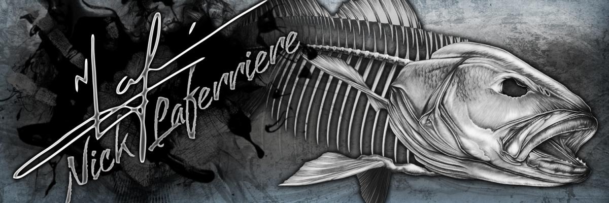 Mullowayblack Jewfish Skeleton Nick Laferriere